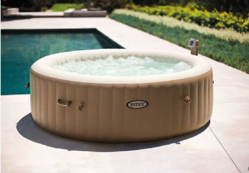 Intex PureSpa Bubble Round 6 Person Spa